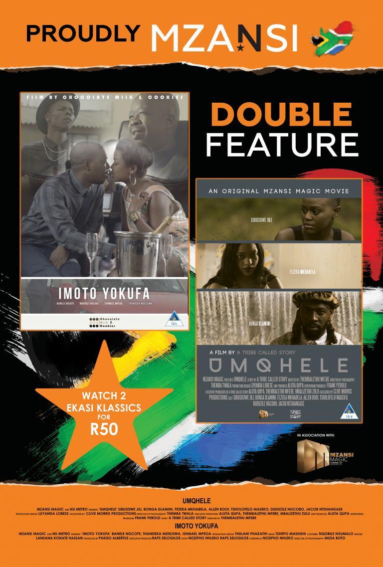 Mzansi 'Imoto Yokufa' / 'Umqhele' Double Feature
